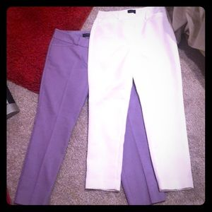 Women's slim slacks
